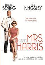 MRS HARRIS (2006 Chloe Sevigny, Ben Kingsley) - Region Free DVD - Sealed
