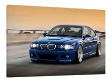 BMW E46 M3 - 30x20 Inch Canvas Art Wrapped On Wooden Frame