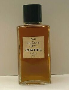 Chanel no 5 Eau De Cologne 118 ml - 4 fl. oz. VINTAGE