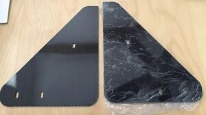 Alfa Romeo 4C 4CHIPgard Front Mudflaps, Coupe & Spyder,NEW (Style: CARBON FIBER)