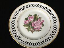 "Bing & Grondahl Danbury Mint 1979 The 12 Rose Plate ""Angel Face"", 8 1/2"" Dia"