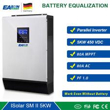 5KW 450Vdc Solar Wechselrichter 80A MPPT Parallel Funktion 48V 230V 80A Ladeger