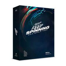 GOT7 2019 WORLD TOUR KEEP SPINNING BLU-RAY Photo Card Book K-pop Disc New Boy