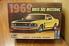 Revell 1969 Boss 302 Mustang Plastic Model Kit Factory