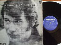 ALBUM VINYL 33T JOHNNY HALLYDAY LA GENERATION PERDUE ORIGINAL 1967 LABEL BLEU