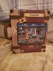 Dowdle Folk Art London Collectors Suit Case Edition 1000 Pieces