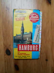 Falk-Stadtplan Hamburg 69.Auflage 1984