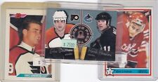 ERIC LINDROS 3 Card Lot PHILADELPHIA FLYERS Rookie / OHL