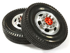 C25546RED Integy Alloy F Wheel 12R +Tire for Tamiya 1/14 Scale Tractor Trucks