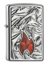 Zippo SOFT FLAME gewaltigees Emblem 2005095 neu+ovp Collection 2017