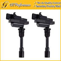 OEM Quality Ignition Coil 2PCS for 2001-2003 Mazda Protege 2.0L L4, FFY1-18-100