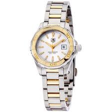 Tag Heuer Aquaracer Quartz Movement Silver Dial Ladies Watch WAY1455.BD0922