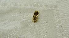 8K YELLOW GOLD BABY BOOTIE SLIPPER SHOE CHARM CHILD CHILDREN N422-Q