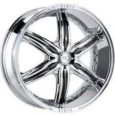 22x9.5 Z23 Zinik Ruffino chrome wheels 6x132 / 6x139.7 +35mm offset