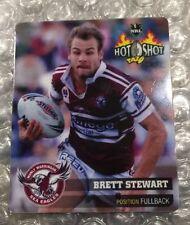 Nrl Rugby League 2006 Hot Shot Standard Tazo 22 Brett Stewart Tazos Cards