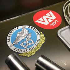 Alien 3 - Pair of Prop Fiorina 161 Prison Case Stickers / Equipment Set Decals