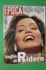 EPOCA 1996 SIMONA VENTURA PACCIANI FESTIVAL SANREMO CARLA FRACCI MASSIMO BOLDI