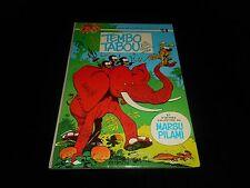 Roba / Franquin : Spirou et Fantasio 24 : Tembo Tabou EO Dupuis 1974