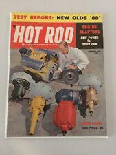 Hot Rod Magazine -  1957 February