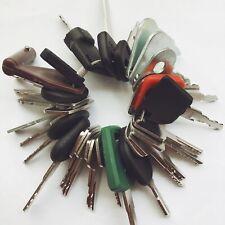 33 Keys Heavy Equipment / Construction Ignition Key Set CAT Kubota Volvo