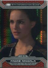 Star Wars Chrome Perspectives II Prism Parallel Base Card 18-S Padme Amidala