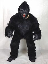 DELUXE Gorilla APE MAN King Kong COMPLETE Costume FURRY Mascot Halloween LARGE