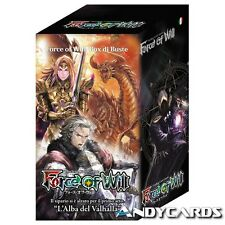 Box 15 Buste L'alba del Valhalla ☻ Dawn of Force of Will FOW ☻ ITALIANO Boosters