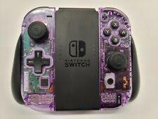 Atomic Purple Nintendo Joy-Con Controllers w/ D-Pad & New Thumbsticks, No Drift!