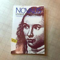 Hymns to the Night English German Edition Higgins Dick Novalis 3rd ed '88 book!