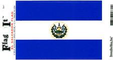 El Salvador Flag - Vinyl Decal Sticker 3.5''x 5''