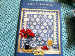 quilt pattern Days to Remember by Teri Christopherson