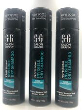 Lot of 3 Cans Salon Grafix Professional Invisible Dry Shampoo Clean & Fresh
