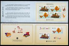 2015 Old Toys,Rocking horse,Clay Whistle-bird/ram,EUROPA,Moldova,904,Booklet/MNH