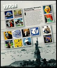 1999 - CELEBRATE THE CENTURY 1970's - #3189 Mint Sheet of 15 Postage Stamps