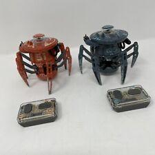 Two Hexbug Battle Ground Spiders