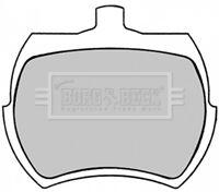 Borg & Beck Disc Brake Pad Set Pads BBP1409 - GENUINE - 5 YEAR WARRANTY