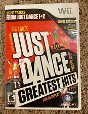 Just Dance: Greatest Hits (Nintendo Wii, 2012) Complete & Tested NO MANUAL