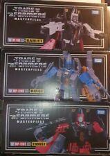Takara MP11 Ramjet, Dirge and Thrust, Transformers Masterpiece Coneheads.