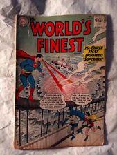 World's Finest Comics #115 (Feb 1961, DC) Green Arrow Tommy Tomorrow