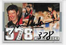 SIMON MADDEN  378  SELECT  CASE CARD HAND SIGNED  /MINT CONDITION