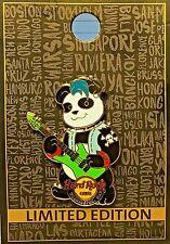 Hard Rock Cafe Washington D.C. Panda Band Series # 3 Bobblehead 2016 Pin LE NEW