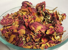 5 oz Bulk Dried Red Rose Petals and Rosebuds