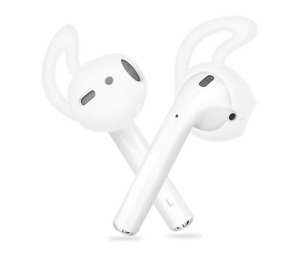 Silicone Ear hooks case for Earbuds Airpods for Gym running Anti lost UK Seller
