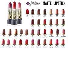 100 pcs Jordana Matte Lipstick Red Brown Brazil MADE USA Compare to City be