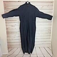 Duluth  Mens Size Large  Gray Cotton Coveralls Vintage B490
