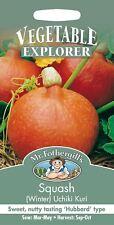 Mr Fothergills - Pictorial Packet - Vegetable - Squash Uchiki Kuri - 10 Seeds