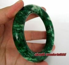 Beautiful natural jade Classic green bangle bracelet 65mm