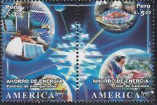 upaep Peru 1605/06 2006 Platten aus Kraft Solar MNH