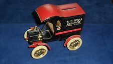 THE TEXAS COMPANY - VINTAGE COIN BANK - 1905 FORD DELIVERY CAR - GREAT CONDITION