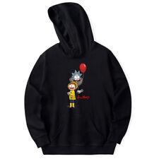 Rick and Morty Printed Women/Men Plain Hoodie Sweatshirt Pullover Hooded Jacket
